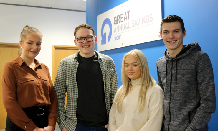 Great Annual Savings Apprentices
