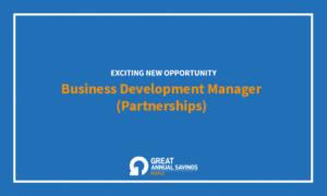 Business Development Manager (Partnerships)