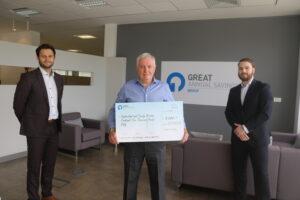 GAS Presents Sunderland Foodbank with £5000