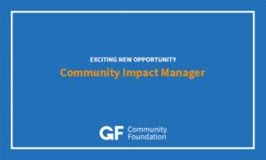 Community Impact Manager