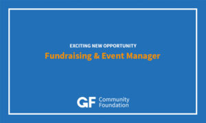 Fundraising & Event Manager